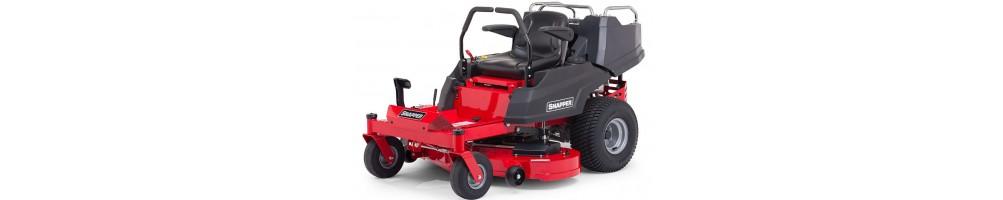 Tractor giro cero, giro sobre su eje e independiente de cada rueda